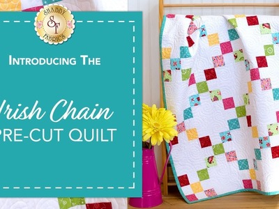 How to Make an Irish Chain Pre-Cut Quilt Block   a Shabby Fabrics Quilting Tutorial