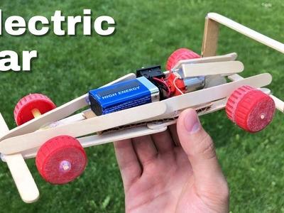 How to Make Mini Electric F1 Car - Tutorial