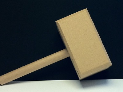 How to Make Thor's Hammer from Cardboard