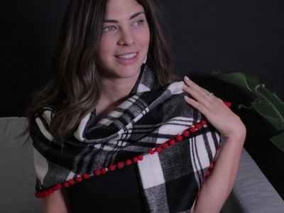 ' How To Make' Trimmed Shawl