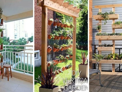 ???? 5 DIY Clever Living Walls and Vertical Garden You Must Check: Some Clever Inspirations ????