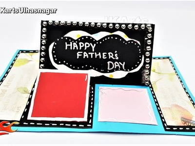 Card To Surprise Your Dad With This Father's Day | Impossible Card Tutorial | JK Arts 1423