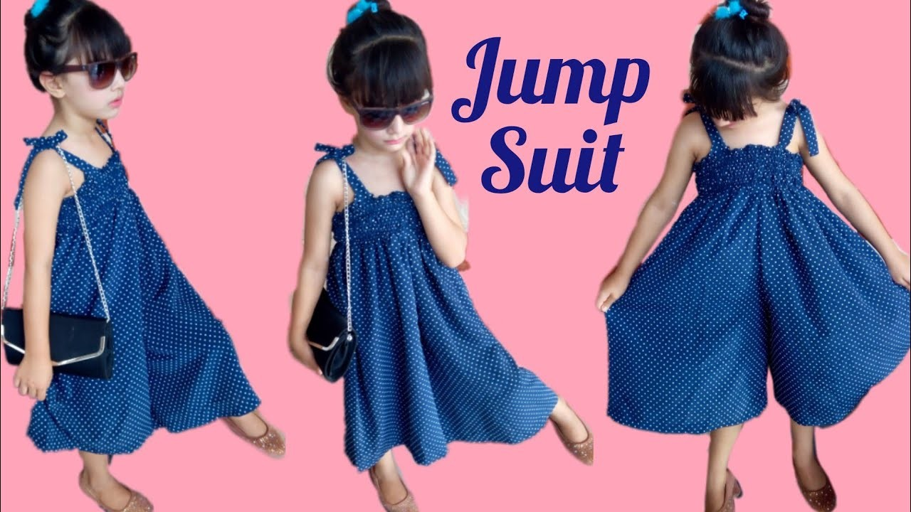 Diy baby jump suit easy cutting and stitching tutorial