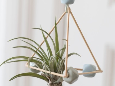 DIY : Make air plant ornaments by Søstrene Grene