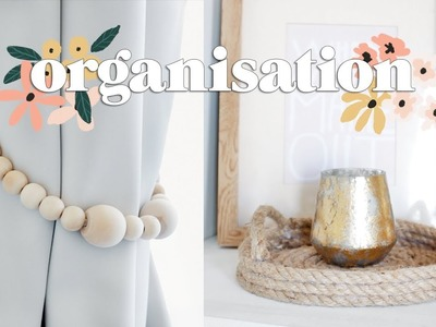 DIY Organisation for the New House | Bedroom Organisation Ideas 2018