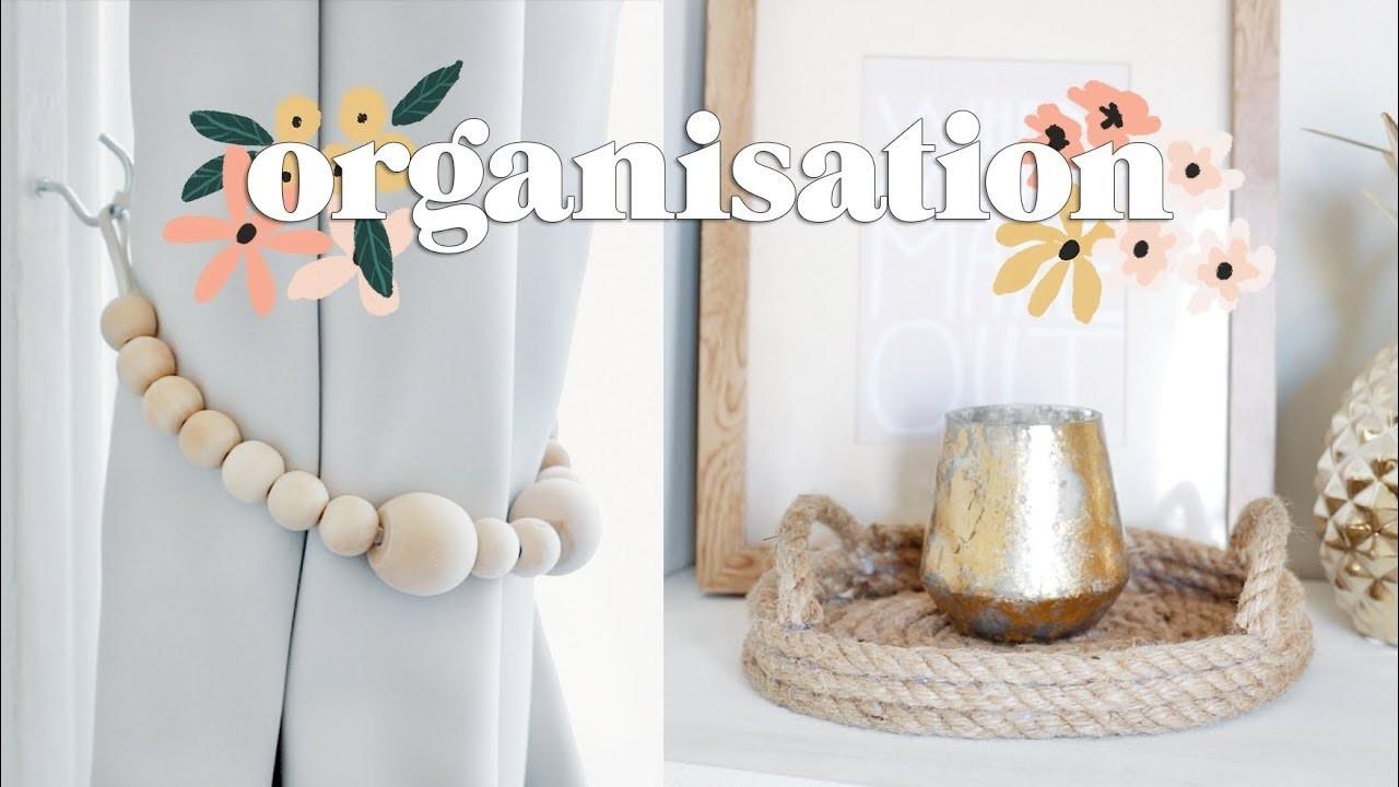 DIY Organisation for the New House   Bedroom Organisation Ideas 2018