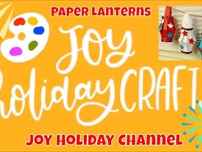 Fourth of July Paper Lantern