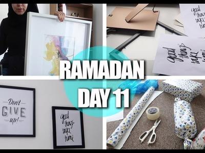 RAMADAN DAY11: EID GIFT WRAPPING & DIY'S!    Amina Chebbi