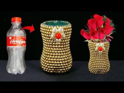অসাম ফুলদানি. How to Make Best out of waste Flower vase