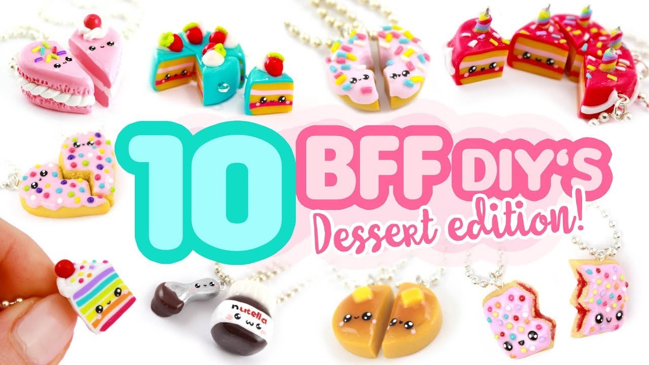10 Dessert BFF DIY's! - Polymer Clay Compilation!