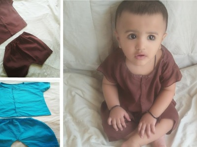 DIY Kids Wear    Baby Boy Shirt Cutting & Stitching Part -1    How to make #Nikkers Easy Method