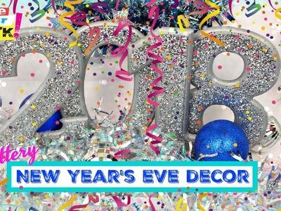 Glittery New Year's Eve Decor