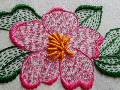 Hand Embroidery: Running Stitch