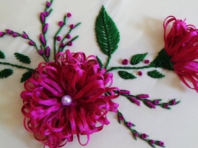Hand Embroidery: Trim embroidery