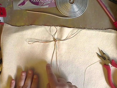 How to make an Armature for Doll Making