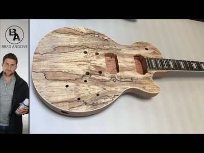 Make an Awesome Les Paul for Less Than $300   Neck and Fret Work (Part 1)