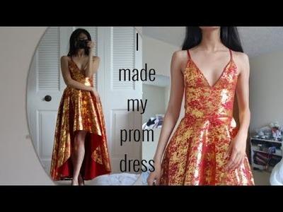 Making my prom dress