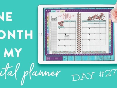 One Month in my Digital Planner: Day 27