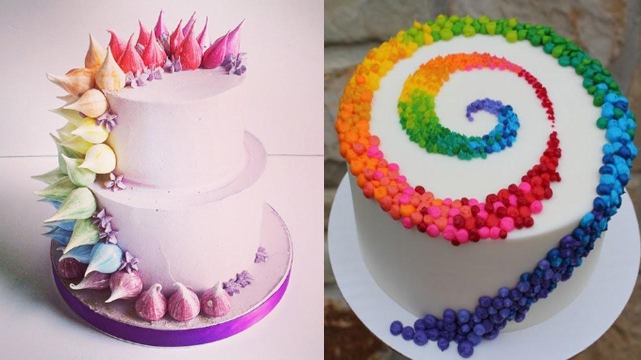 Birthday Cake Baking At Home
