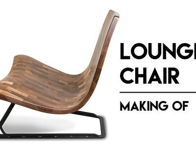 Walnut Design Lounge Chair Making Of