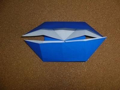BASIC ORIGAMI FOLDS - Boat Base