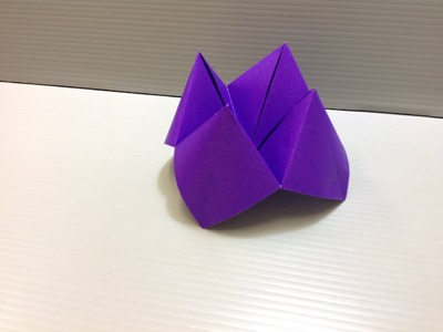 Daily Origami: 033 - Fortune Teller