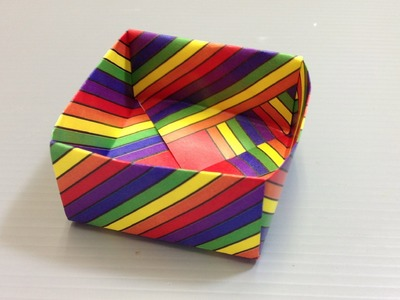 Free Origami Paper - Print Your Own! - Rainbow Pattern