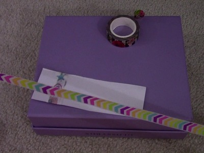 HOW I MAKE WASHI TAPE SAMPLES FOR MY PEN PALS!