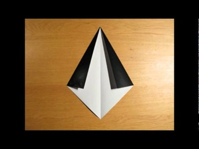 How to create a beautifull origami penguin in a few easy steps