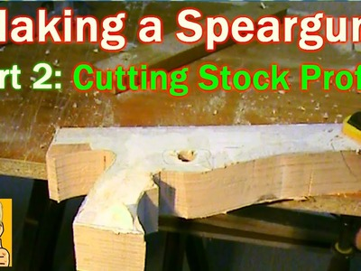 How to Make a Wooden Speargun - Part 2