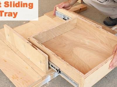 Kitchen Storage Solutions (Kitchen Sink Sliding Trays)