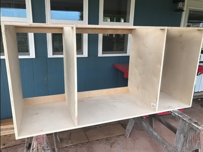 Making Kitchen Cabinets Part 1 - Carcass