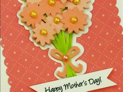 MOTHER'S DAY CARD THREE 2018 ~ 3-D DECOUPAGE