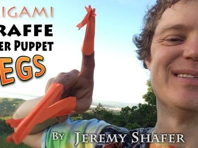 Origami Giraffe Legs