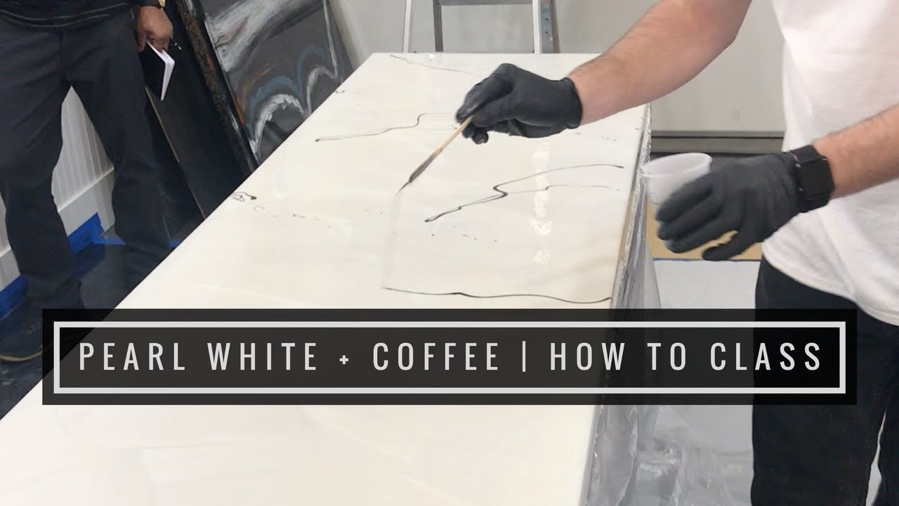 Pearl White & Coffee | How To Class