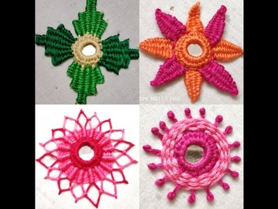 207-Different styles of mirror embroidery (Hindi. Urdu)