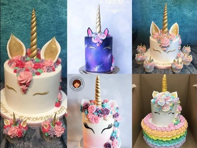 Amazing Unicorn Cake Decorating Tutorial Compilation - Cake Style 2017