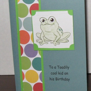 Birthday Card    TF198K