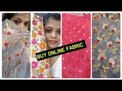 Different Fabric for Dress, Lahnga, Blouse!!!Buy Online ????
