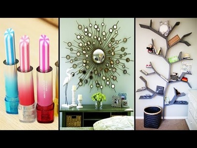 DIY ROOM DECOR! 25 Easy Crafts Ideas at Home For Teenagers