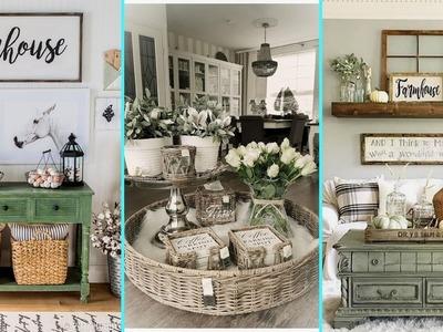 ❤DIY Rustic Shabby chic style Farmhouse decor Ideas❤ | Home decor & Interior design| Flamingo Mango