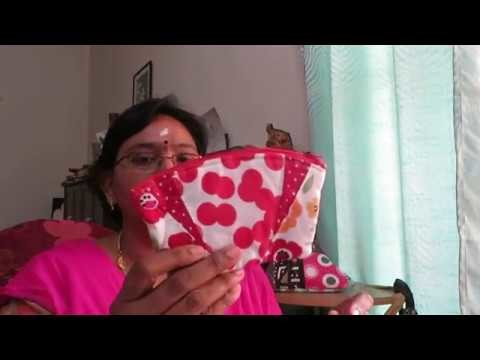 Easy Zip purse tutorial in Tamil.Zip purse to make at home.Sivakasi Samayal Express  30