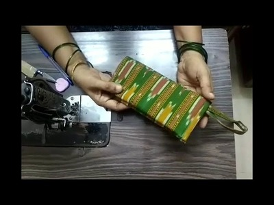 Fancy clutch no. 5 | triple zipper + 2 extra pocket | how to sew