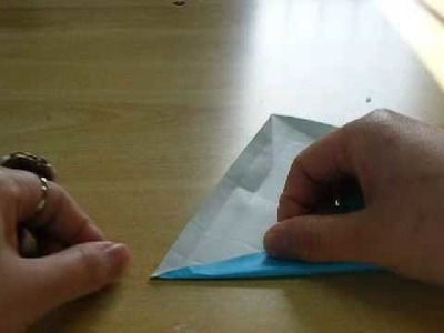 How to fold origami #3 alphabet B from Japan1