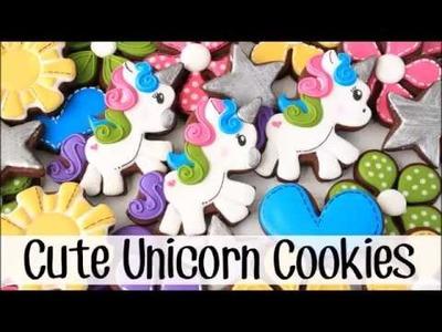 How To Make Full Body Unicorn Sugar Cookies
