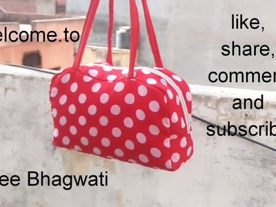 How to Make Tiffin ll  Lunch  Bag ll Shopping Bag Cutting and Stitching at Home  ll Bag (no. 10)