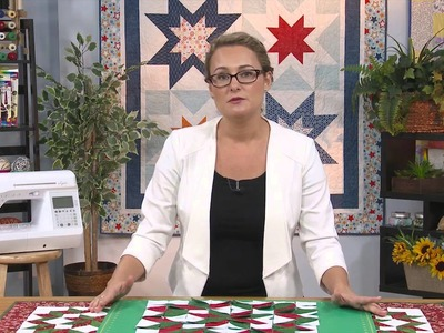 My First Quilt - Episode 23 Preview - Christmas Quilt Block: Carpenter's Star