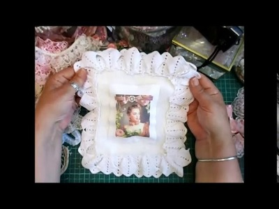 My Oh So Shabby-Chic Wall Hanging Tutorial - jennings644