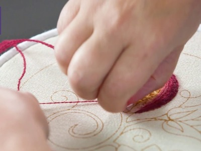 NEW Royal School of Needlework Online Learning - Introduction to Jacobean Crewelwork