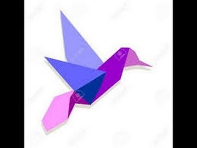 Origami Paper | How To Make Origami Birds Honey Suckers | Origami Animals